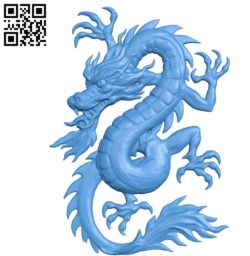 Chinese dragon file STL for Artcam and Aspire free vector art 3d model download for CNC