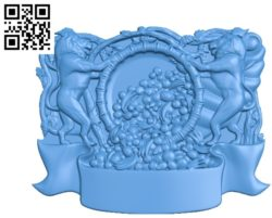 Coat of arms of plenty file STL for Artcam and Aspire free vector art 3d model download for CNC