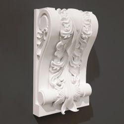 Pillar pattern design A000489 file FBX free vector art 3d model download