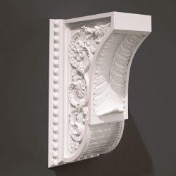 Pillar pattern design A000491 file FBX free vector art 3d model download