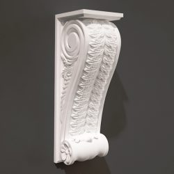 Pillar pattern design A000492 file FBX free vector art 3d model download