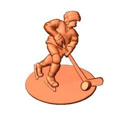 Athlete trophy trophy file 3dClip free vector art 3d model download for CNC