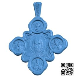 Cross icon file STL for Artcam and Aspire free vector art 3d model download for CNC