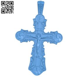 Cross with file STL for Artcam and Aspire free vector art 3d model download for CNC