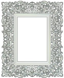 Frame picture Wood carving file RLF for Artcam 9 and Aspire free vector art 3d model download for CNC