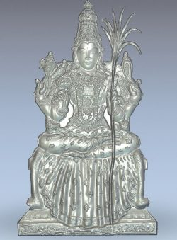Komachi aman wood carving file stl for Artcam and Aspire jdpaint free vector art 3d model download for CNC