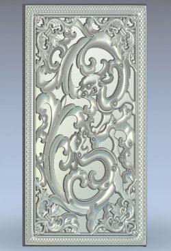 Pattern Backgammon Chinese Dragon wood carving file stl for Artcam and Aspire jdpaint free vector art 3d model download for CNC