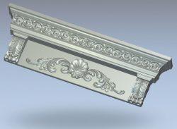 Sandrick wood carving file stl for Artcam and Aspire jdpaint free vector art 3d model download for CNC