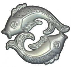 fish carp file RLF for Artcam 9 and Aspire free vector art 3d model download for  wood carving CNC