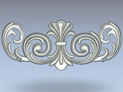 hook pattern wood carving file stl for Artcam and Aspire jdpaint free vector art 3d model download for CNC
