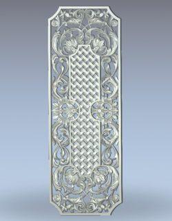 Lattice pattern wood carving file stl for Artcam and Aspire jdpaint free vector art 3d model download for CNC