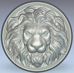 Lion King wood carving file stl for Artcam and Aspire jdpaint free vector art 3d model download for CNC