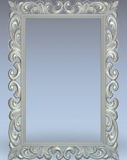 Portrait photo frame wood carving file stl for Artcam and Aspire jdpaint free vector art 3d model download for CNC