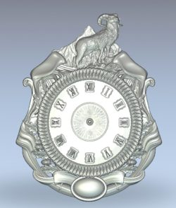 The watch has a goat wood carving file stl for Artcam and Aspire jdpaint free vector art 3d model download for CNC
