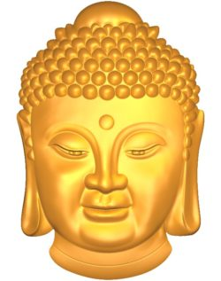Buddhism Buddha A002559 wood carving file stl for Artcam and Aspire jdpaint free vector art 3d model download for CNC