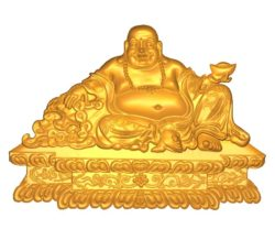 Maitreya Buddha A002637 wood carving file stl for Artcam and Aspire jdpaint free vector art 3d model download for CNC