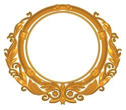 Room number plate frame A002505 wood carving file stl for Artcam and Aspire jdpaint free vector art 3d model download for CNC