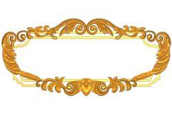 Room number plate frame A002507 wood carving file stl for Artcam and Aspire jdpaint free vector art 3d model download for CNC
