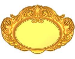 Room number plate frame A002512 wood carving file stl for Artcam and Aspire jdpaint free vector art 3d model download for CNC