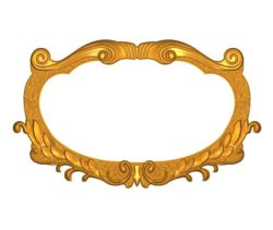 Room number plate frame A002520 wood carving file stl for Artcam and Aspire jdpaint free vector art 3d model download for CNC