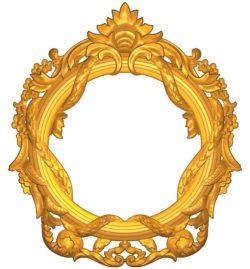 Room number plate frame A002521 wood carving file stl for Artcam and Aspire jdpaint free vector art 3d model download for CNC