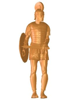 Soldiers with swords B002743 file stl free download 3D Model for CNC and 3d printer