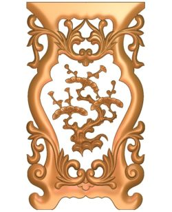 Table and chair pattern Cedrus tree A002673 wood carving file stl for Artcam and Aspire jdpaint free vector art 3d model download for CNC