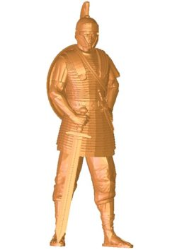 The leader held the sword and wore the shield B002742 file stl free download 3D Model for CNC and 3d printer