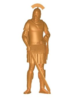 The leader holds the sword B002741 file stl free download 3D Model for CNC and 3d printer