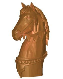 Xadrez – o cavalo B002735 file stl free download 3D Model for CNC and 3d printer
