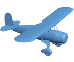 Airplane B002854 file stl free download 3D Model for CNC and 3d printer