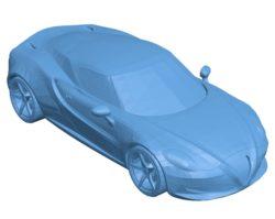 Alfa Romeo 4C Car B003525 file stl free download 3D Model for CNC and 3d printer