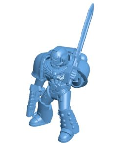 Another marine B003599 file stl free download 3D Model for CNC and 3d printer