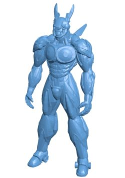 Appleseed Men B003562 file stl free download 3D Model for CNC and 3d