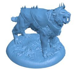 Armored STT Dog B002899 file stl free download 3D Model for CNC and 3d printer