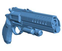 Austringer Gun B003688 file stl free download 3D Model for CNC and 3d printer