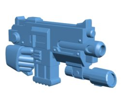 Aux Grenade Launcher Gun B003551 file stl free download 3D Model for CNC and 3d