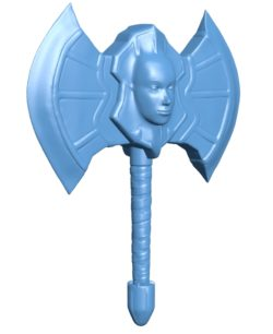 Ax angel hammer B003319 file stl free download 3D Model for CNC and 3d printer