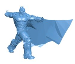 Batman kick B003458 file stl free download 3D Model for CNC and 3d printer