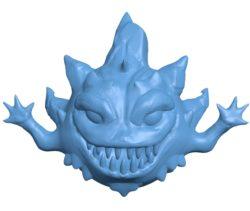 Bomb final fantasy B003038 file stl free download 3D Model for CNC and 3d printer