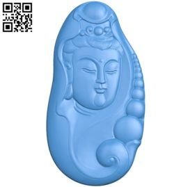 Buddhism Quan Yin A002798 wood carving file stl for Artcam and Aspire jdpaint free vector art 3d model download for CNC