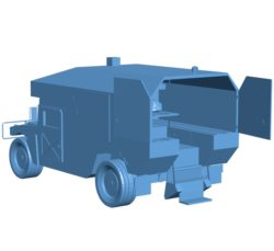 Car Ambulance Army B002859 file stl free download 3D Model for CNC and 3d printer