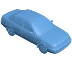 Car Corolla 1995 B003623 file stl free download 3D Model for CNC and 3d printer