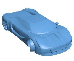 Car Ferrari Velocita B002876 file stl free download 3D Model for CNC and 3d printer