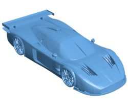 Car Maserati MC12 B002969 file stl free download 3D Model for CNC and 3d printer