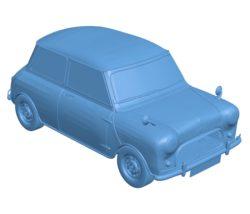 Car Mini Cooper B002862 file stl free download 3D Model for CNC and 3d printer