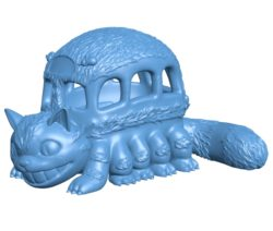 Catbus Cat B003718 file stl free download 3D Model for CNC and 3d printer