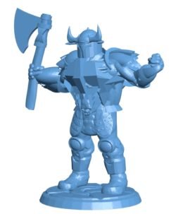 Chaos Warrior B003576 file stl free download 3D Model for CNC and 3d printer