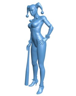 Classic Harley Women B003064 file stl free download 3D Model for CNC and 3d printer