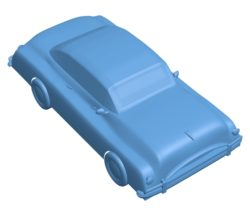 Classic vintage Car B003556 file stl free download 3D Model for CNC and 3d